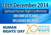 Spiritual Human Rights 2014 Conference