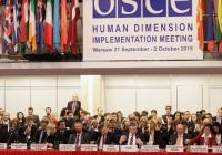 OSCE - Human Dimension Implementation Meeting 2015